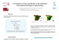 A Comparison of INLA and MCMC for the Estimation of Smoothed Risk Maps in Epidemiology